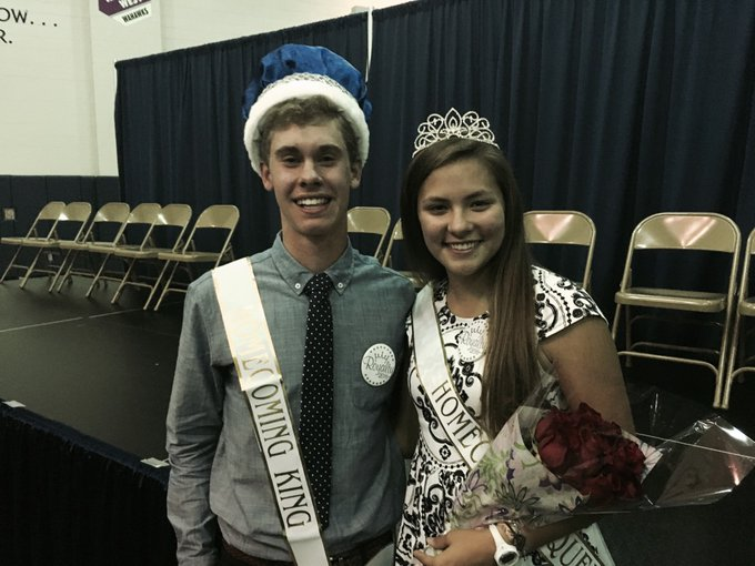 2016 Homecoming King and Queen