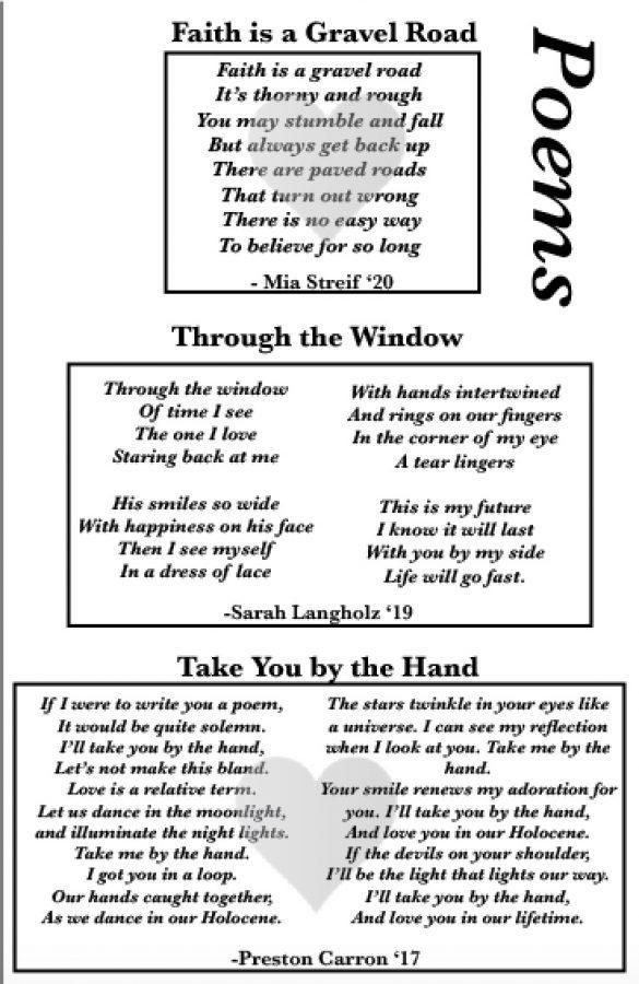 Saints Poems
