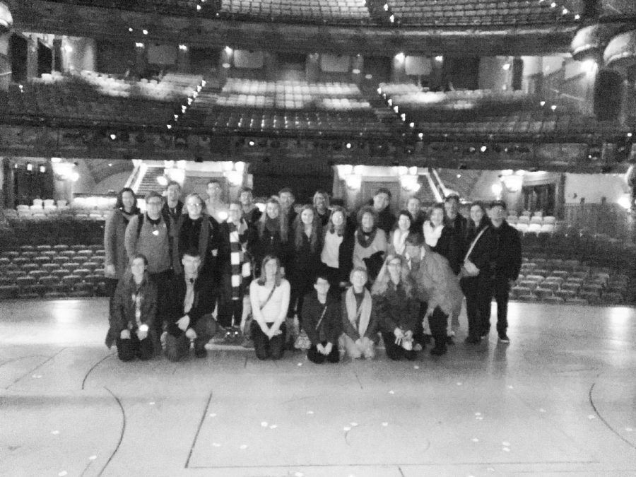 Group explores The Majestic Theatre. Ms. Sarah Hayes Photos.