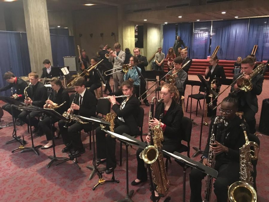 Jazz band takes second