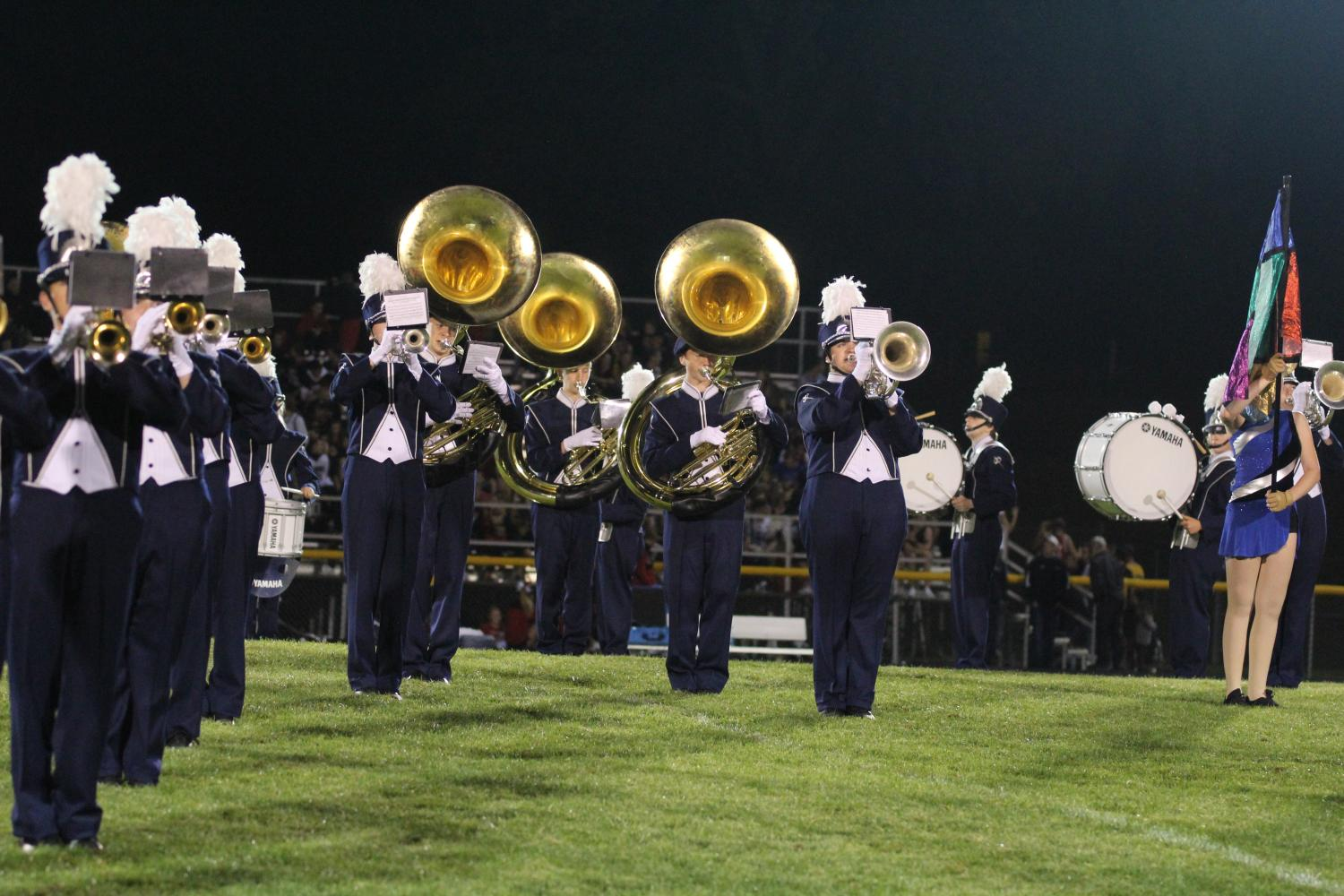 Marching Band invasion