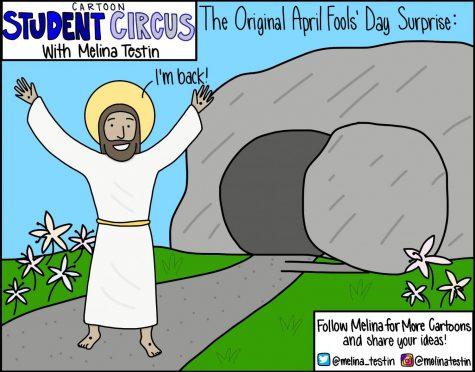 Cartoon Student Circus: The Original April Fools' Day Surprise