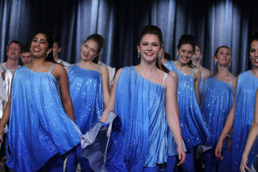 Xhilaration performs at Benton's Touch of Class Competition on February 10. Camryn McPherson Photo.