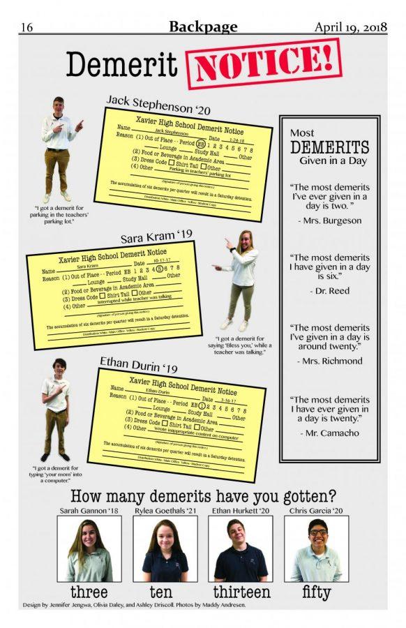 Demerit Notice