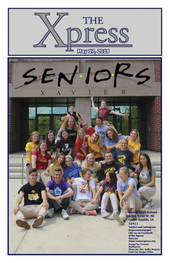 Cover: Senior Issue