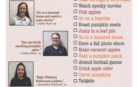 Fall Harvest Bucket List