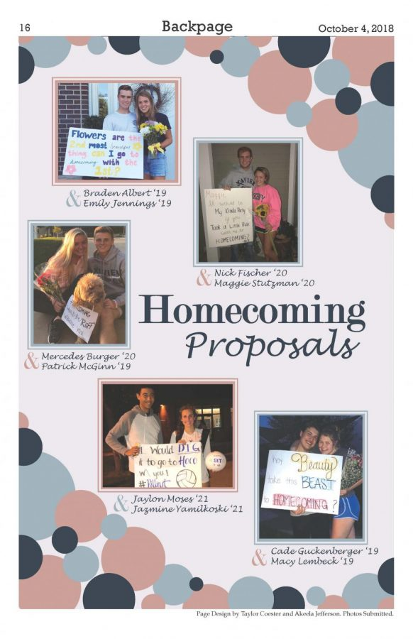 Homecoming Proposals