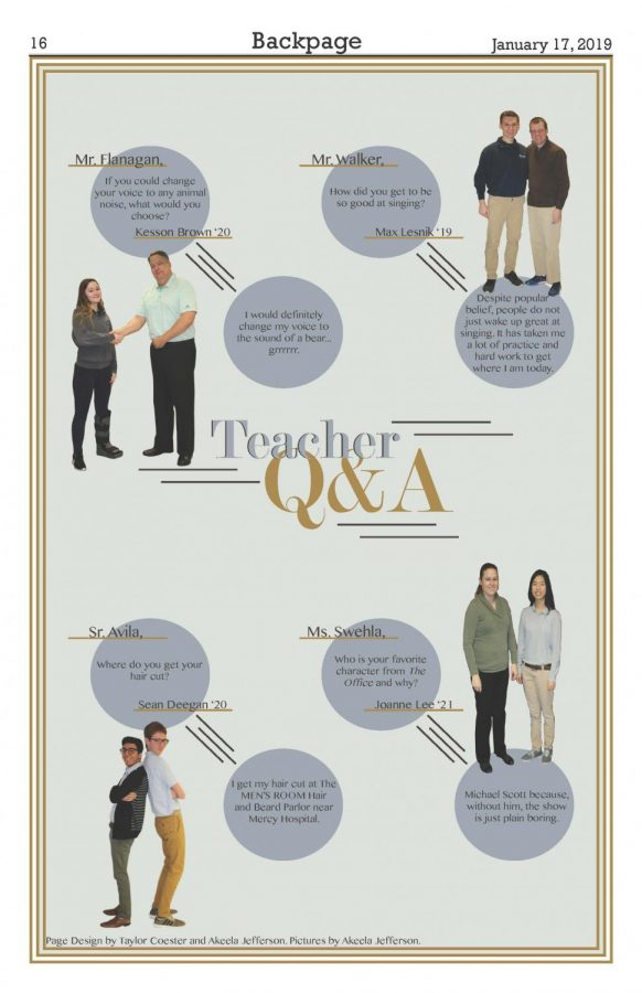 Teacher Q&A