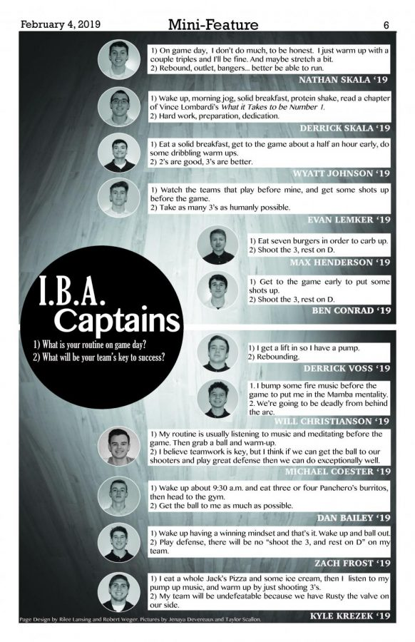 I.B.A captains
