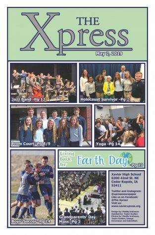 Senior issue cover 5/16/19