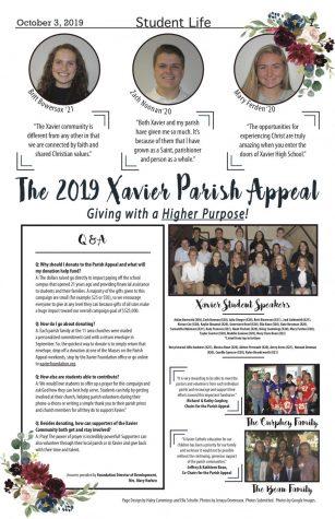 The 2019 Xavier Parish Appeal