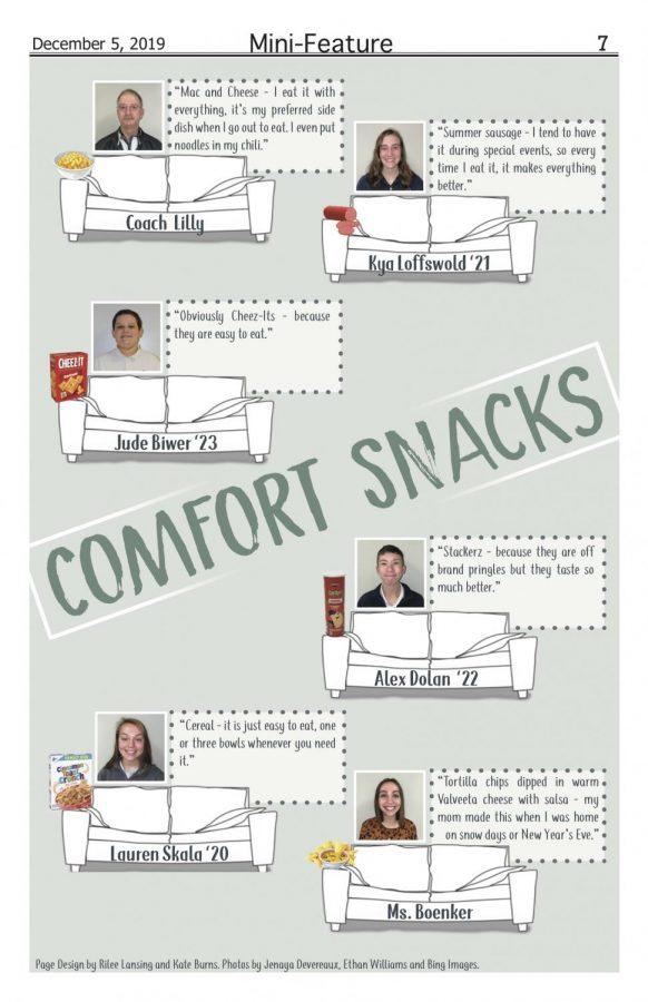 Comfort snacks