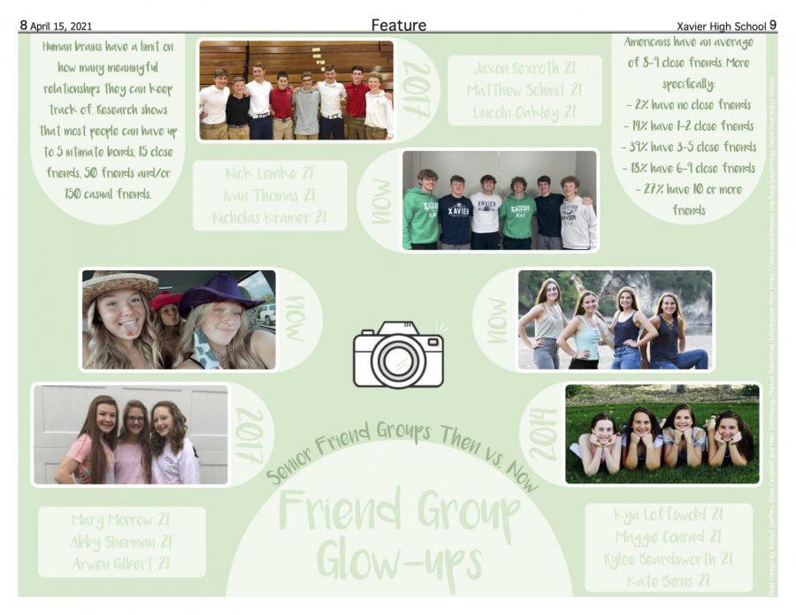 Senior friend group glowups
