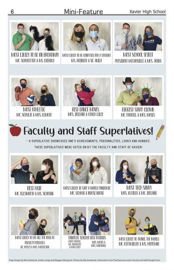 Xavier Staff Superlatives